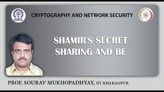 Shamir's secret sharing and BE