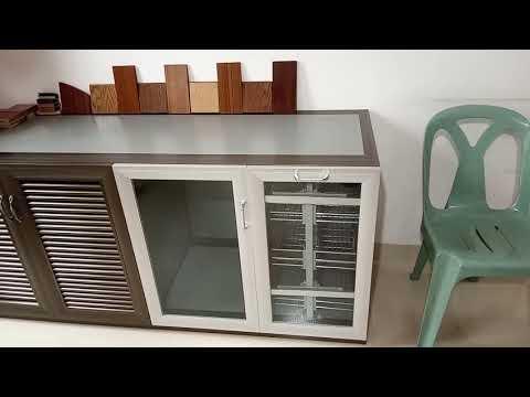Kitchen Cabinet Design (aluminium furniture)