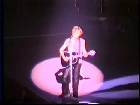 Bon Jovi - Can't Help Falling In Love (Oslo 1993) Elvis Presley Cover