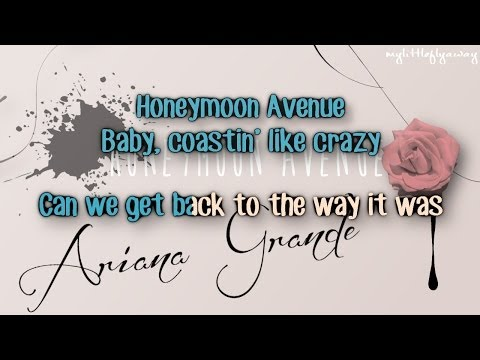Ariana Grande - Honeymoon Avenue Karaoke/ Instrumental