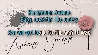 Ariana Grande - Honeymoon Avenue Karaoke/ Instrumental