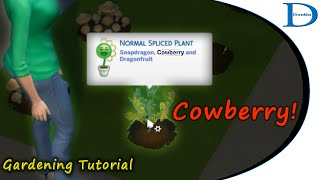 09 The Sims 4 Gardening Tutorial - 09 Making A Cowberry