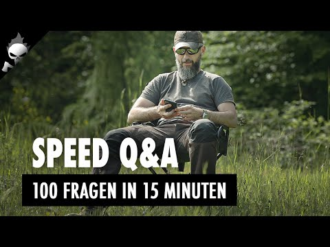 SPEED Q&A – Knapp 100 FRAGEN in 15 MINUTEN! Über Bushcraft, Outdoor, Beruf, Familie, Amarok uvm.