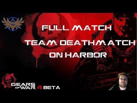 Team Deathmatch on Harbor - Full Match - Gears of War 4