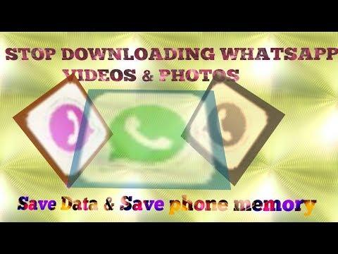 How To Stop Whatsapp Saving Photos /videos @bangla
