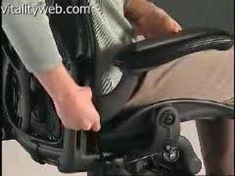 Herman Miller Aeron Chair Arm Height Lever Adjustment