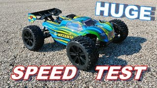 Force RC MuckRaker 1/8 Scale Truggy SPEED TEST - TheRcSaylors