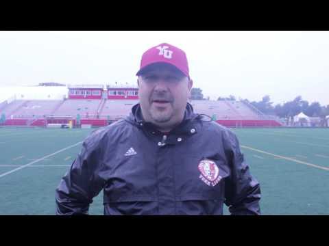 York Lions | Post-game interview - Warren Craney (Sept. 21, 2013 vs. Carleton)