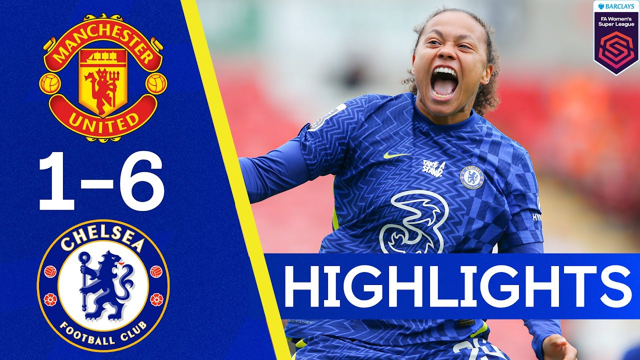 Manchester United 1-6 Chelsea | The Blues End United's Unbeaten Run In Style | Women's Super League