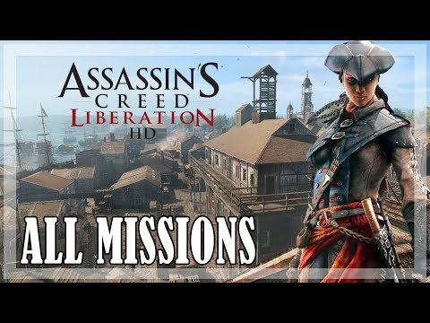 Assassin's Creed Liberation HD - All missions | Full game 100% sync