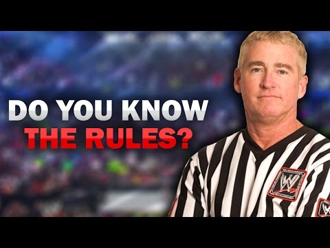 How Well Do You Know The Rules Of Wrestling? (WWE Quiz)