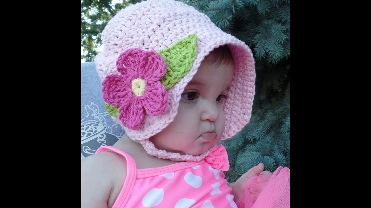 Baby Hat Crochet Youtube