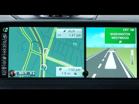 Enable Split Screen with Arrow View | BMW Genius How-To