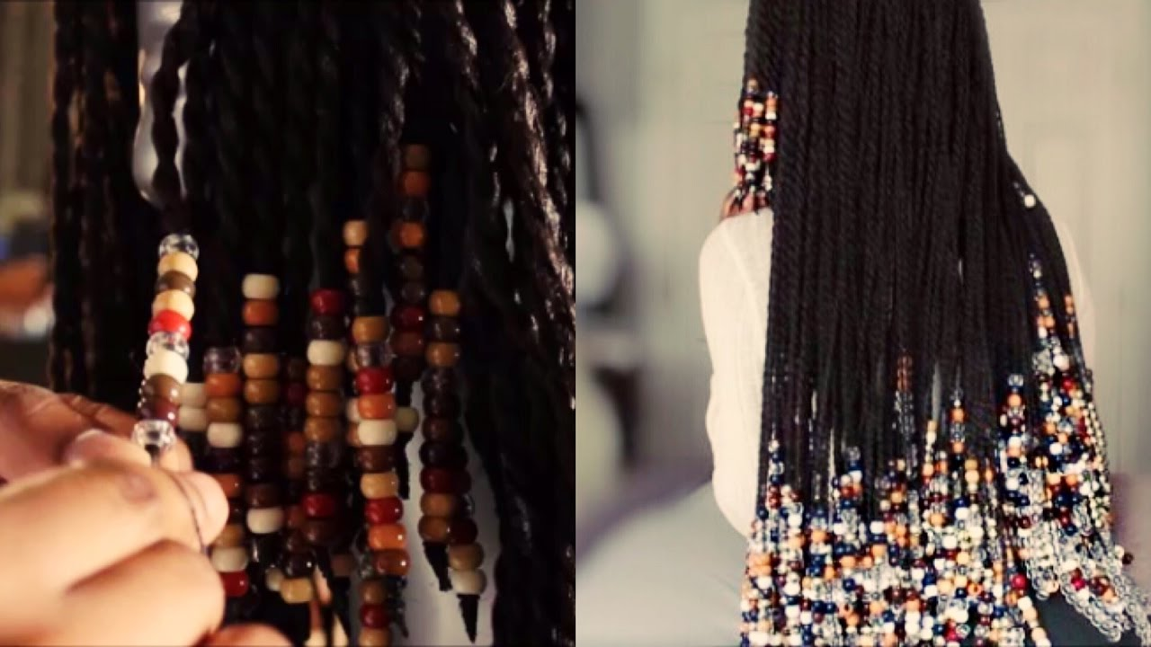 Unboxing+TUTORIAL ON BEADING TWISTS/BRAIDS HOW I GOT THE 70's LOOK!