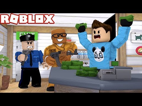 ROBBING STORES IN ROBLOX (Roblox Jailbreak Roleplay)