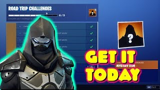 HOW TO GET THE NEW ROAD TRIP SKIN TODAY IN FORTNITE