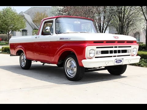 1961 ford f100 pickup for sale youtube. Black Bedroom Furniture Sets. Home Design Ideas