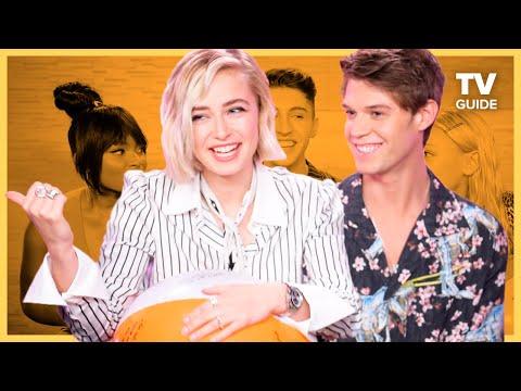 Netflix's Daybreak Stars Play Ball | Colin Ford, Sophie Simnett