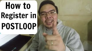 How to Register in Postloop and Earn money by posting in forums Philippines 2017 - Tagalog