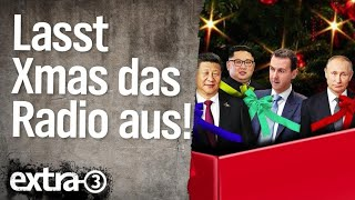 Lasst Christmas das Radio aus! – Jahresrückblick 2018 als Song