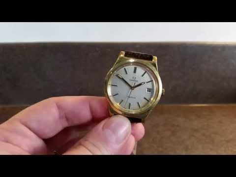 1972 Omega Geneve vintage watch
