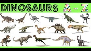 Dinosaurs A-Z! Fun Facts~Pictures~Sounds + More!