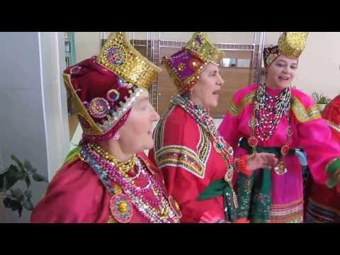 Танец Барыня главы района. Село Красное в гостях. Эстафета 60 лет Белогорью.