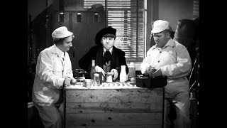"""Learning Pig Latin From The Three Stooges! (""""Tassels In The Air"""", 1938)"""