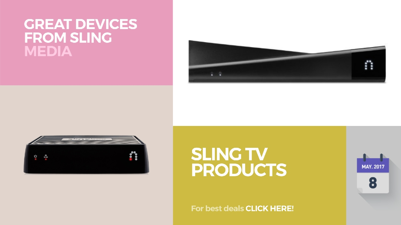 Sling TV Products Great Devices From Sling Media  sc 1 st  YouTube : best sling box - Aboutintivar.Com