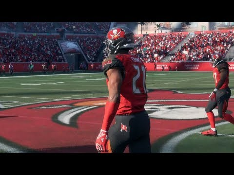 Madden NFL 18 - Tampa Bay Buccaneers vs Dallas Cowboys - Gameplay (HD) [1080p60FPS]