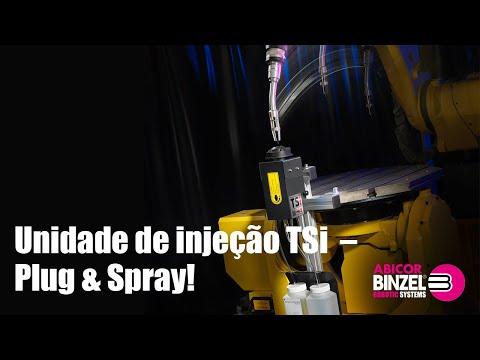 Unidade de injeção TSi – Plug & Spray!