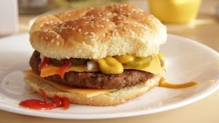 quarter pounder with fresh beef