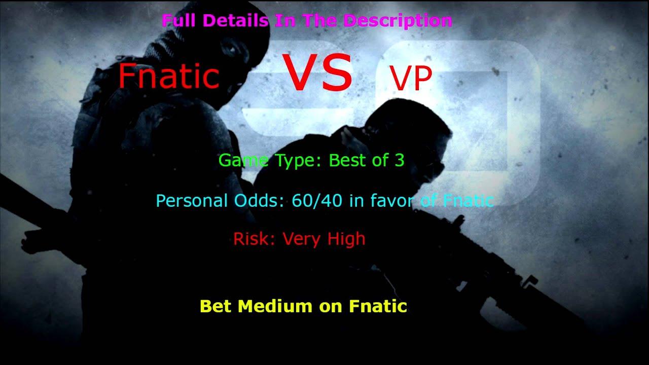 fnatic vs vp betting