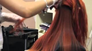 Кератиновое выпрямление волос в парикмахерской ZEBRA - от 2250 рублей.