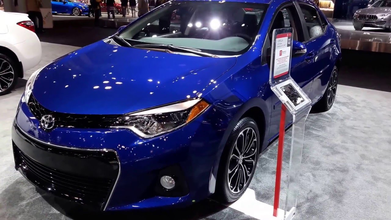 2016 toyota corolla s exterior walkaround price site toyota cars youtube. Black Bedroom Furniture Sets. Home Design Ideas