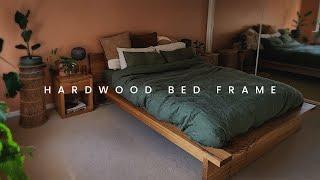 Hardwood Bed Frame - DIY Build