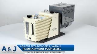 Agilent Technologies Varian HS 602 Rotary Vane Pump