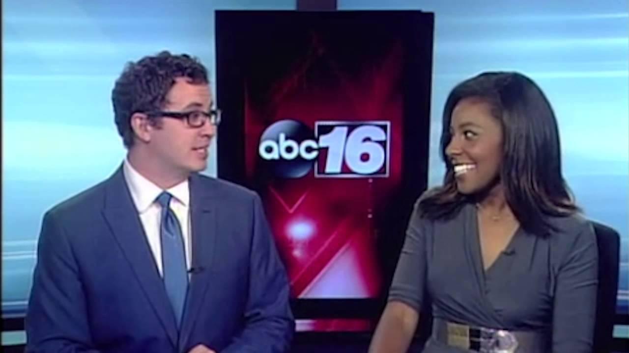 Morning News Anchors Rick and Ashley Having Fun