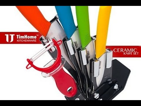 timhome-ceramic-knife-set-6-pieces---review-&-unboxing