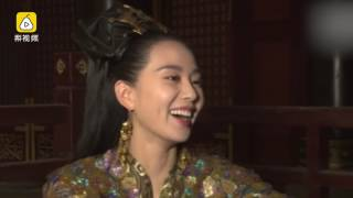 刘诗诗:新剧吻戏多,肉麻词一堆