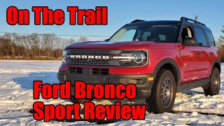 2021 Ford Bronco Sport Review: On The Trail