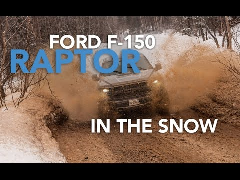 2017 Ford F-150 Raptor Review - How Does It Perform in the Snow?