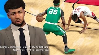 NBA 2k17 MyCAREER - Sports Talk Show Interview! Double Ankle Breaker on Injured Player!! Ep. 64
