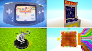 4 INSANE Minecraft Creations You Never Thought Were Possible!