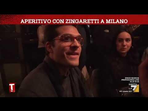 Aperitivo con Zingaretti a Milano