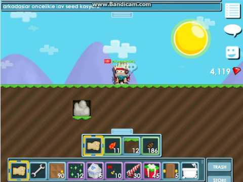 Growtopia 5 Dakikada World Lock[Growtopia Wl kasma yöntemi]