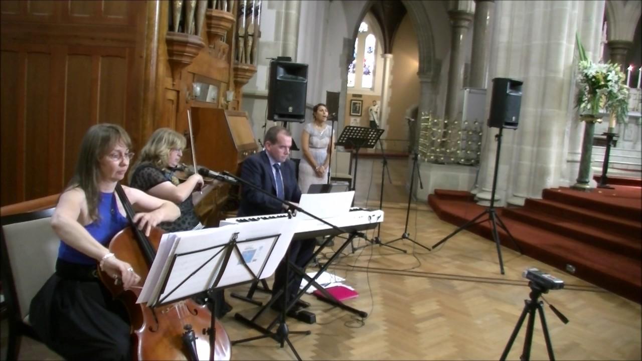 Benny Martin Music Trio Piano Violin Cello Wedding Ceremony Highlights