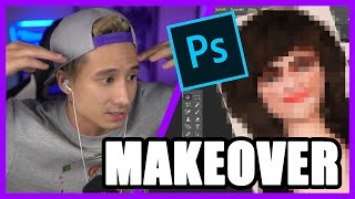 MAKEOVER von Mann zur Frau I Julien Bam Twitch Highlight
