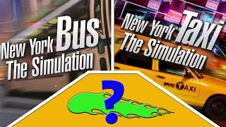 Worst Simulators of 2016! | NYC Bus/NYC Taxi Simulator And One 17 Year Old Game!