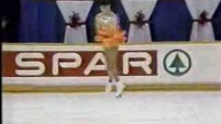 Kitchener, Ontario, CANADA - 1987 World Junior Figure Skating Champ...